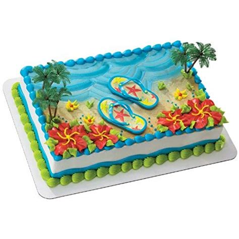Beach Theme Cake Decorations Amazoncom