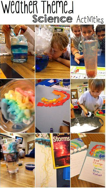 best 293 and weather theme for preschool and 121 | 654a3a6d2e5ff00dfc0eaf25a10305f7 kid science kindergarten science