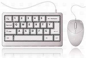 White Keyboard and Computer Mouse, 5760, Objects, download ...