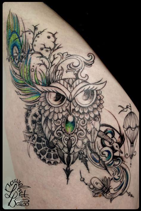 Laurelarth Tattoo Tatoueur Lyon Tatouage Chouette