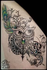 Tatouage Chouette Signification : galerie de tatouages de laurelarth tattoo ~ Melissatoandfro.com Idées de Décoration