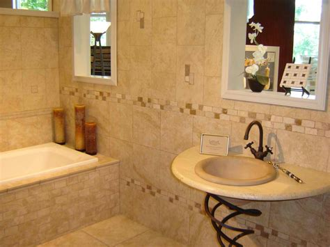 Tile Design For Bathrooms Ideas, Material