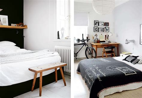 chambre bois blanc déco chambre blanc et bois