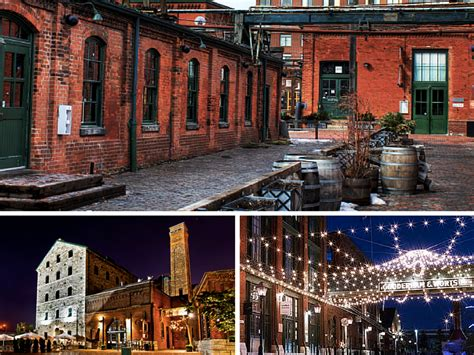 The History Of The Distillery District In 1 Minute
