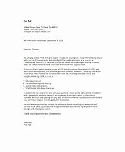 Letter Of Intent Application Job Free 8 Web Developer Cover Letter Templates In Ms Word Pdf