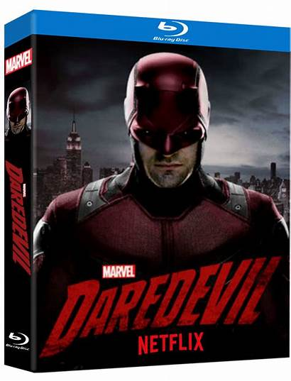 Daredevil Netflix Bluray Covers Ray Blu Season