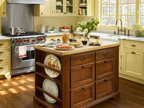 cottage style kitchen islands kitchen a charming cottage style painted and vintage
