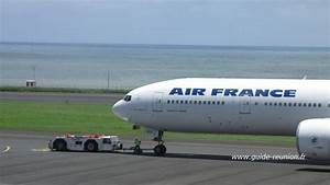 Vol Paris La Réunion Comparateur : un avion d 39 air france d rout sur la r union guide r union ~ Medecine-chirurgie-esthetiques.com Avis de Voitures