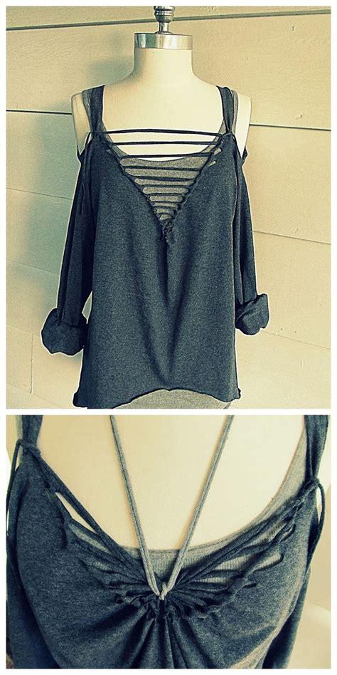 diy shirt designs cut t shirt designs no sew oasis fashion