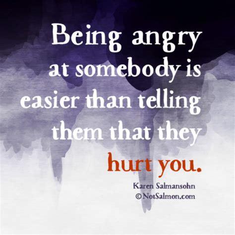angry    easier  telling   hurt