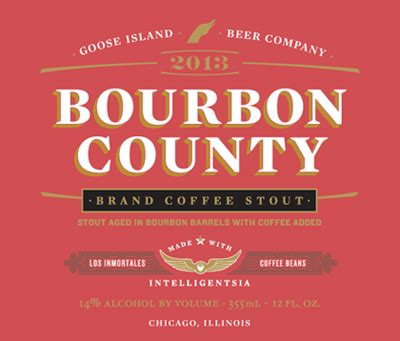 At this time of year, i love to have a nice stout or porter on tap. Bourbon County Brand Coffee Stout (2013) - Goose Island - Beer Guy LA