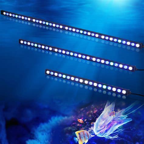 cheap reef tank lighting 5pc lot factoryprice led aquarium bar light 108w high