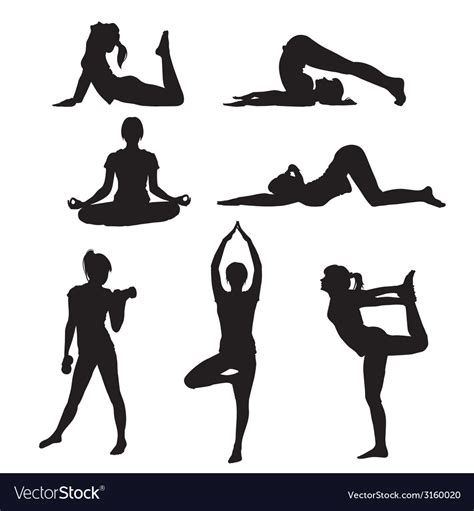 My goal is to always keep hello svg free for personal and commercial use, but running a popular free download site can get costly. Girl yoga Royalty Free Vector Image - VectorStock