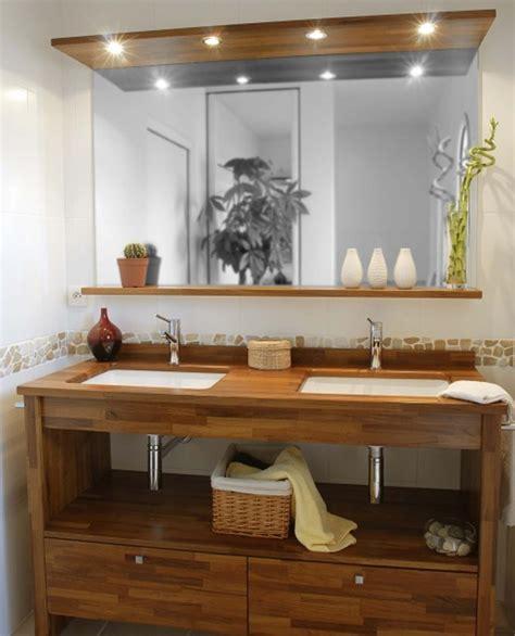 salle de bain avec meuble cuisine idee deco salle de bain avec idee deco cuisine et blanche idees et salle de bains exotique