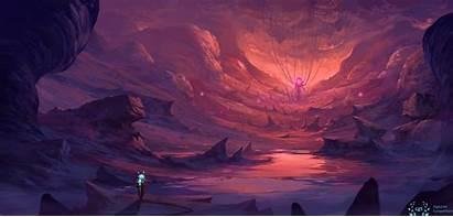 Cave Digital Dreamy Wallpapers Artist Artwork Behance
