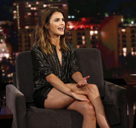 Keri Russell Sexy Af On Kimmel Legs And Feet Omg Celeblr
