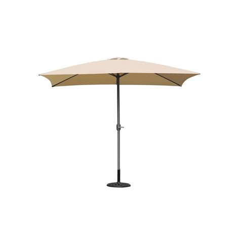 coolaroo 2 x 3m aluminium rectangle market umbrella i n