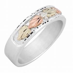 black hills sterling and 12k gold wedding ring for ladies With black hills wedding rings
