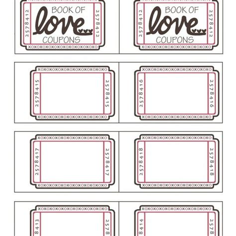 boyfriend coupon printable template printable coupon template for boyfriend journalingsage