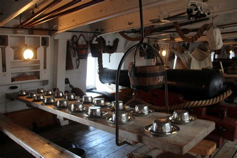 interior  hms warrior portsmouth  christine