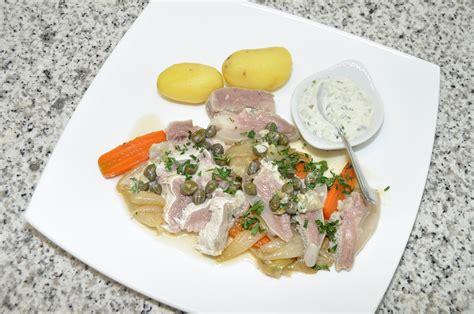 cuisine tete de veau tête de veau sauce gribiche les recettes de cuisine