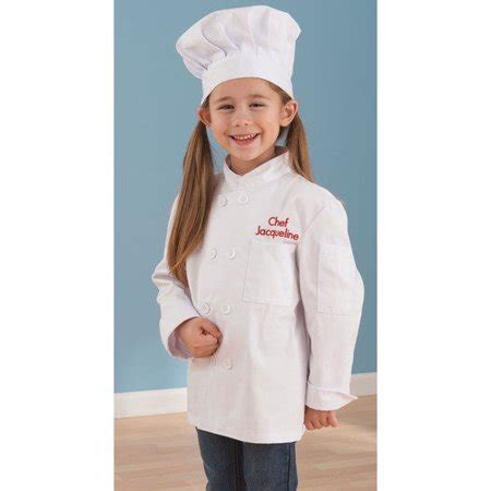 KidKraft Chef Jacket and Hat Set   Walmart.com