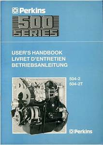 Perkins Engine 500 Series Operators Manual