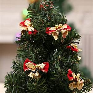 Christmas, Decorations, Christmas, Bow, Knot, With, Bells, Christmas, Tree, Decoration, Christmas, New, Year