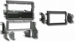 Metra Installation Kit For Select Ford Vehicles Black Ibr
