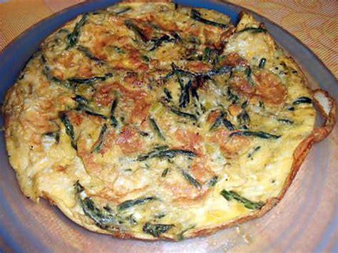 cuisiner des asperges sauvages recette d 39 omelette aux asperges sauvages par italmo