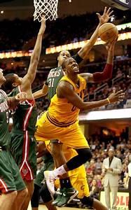 John Henson Photos Photos - Milwaukee Bucks v Cleveland ...