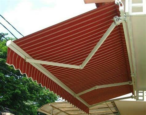 awning gulung retractable jasa pembuatan canopy kain tenda membrane jakarta abadi canopy