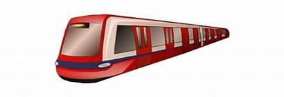 Train Metro Clipart London Transport Clip Drawing