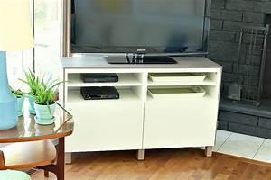 Ikea Besta Schublade : ikea besta hack 2 0 diy besta tv stand with wood top dans le lakehouse ~ Watch28wear.com Haus und Dekorationen