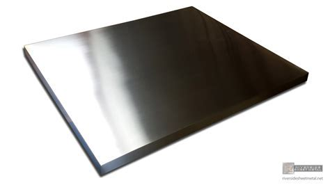Zinc table top with brushed appliance finish   Shipping