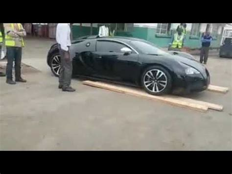 Documents also show that the car is older than 5 years as he paid k41,000.00 as duty. Testing Bugatti ground clearance - Zambia - YouTube