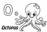 Octopus Coloring Pages Printable Kraken Everfreecoloring Giant sketch template