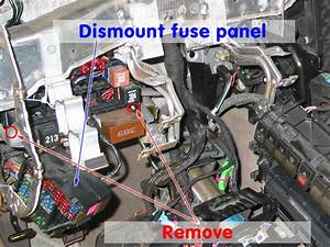 Service Manual  2003 Audi A6 Fuse Block Removal Issues
