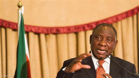 Ramaphosa is one of south africa's. Ramaphosa Speech : Ramaphosa speech at ANC Limpopo ...