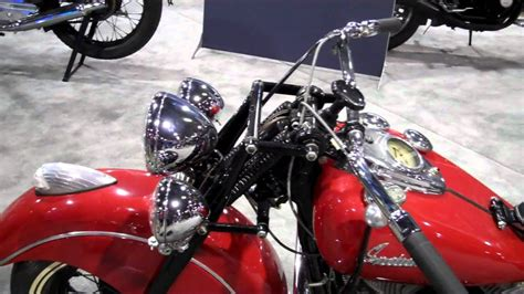 An Old Indian Motorcycle