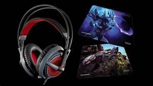 Dota 2 Edition Siberia V2 Headset And Mousepads Announced