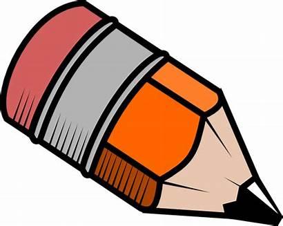 Pencil Clipart Clip Commons Short Creative Pencils