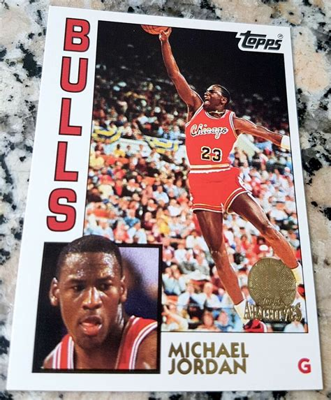 Get the best deal for michael jordan rookie basketball trading cards from the largest online selection at ebay.com. MICHAEL JORDAN 1984 Topps GLOSSY GOLD SP Rookie Card RC 1993 Chicago Bulls HOF | eBay