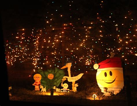 the vinton area christmas light tour from a granddaughter