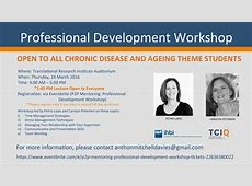 Professional Development Workshop Translational Research