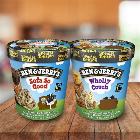 sofa so good ben and jerry s ben and jerry s sofa so good ice cream 500ml groceries