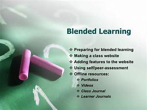 Powerpoint Templates For Training Blended Learning Powerpoint 1