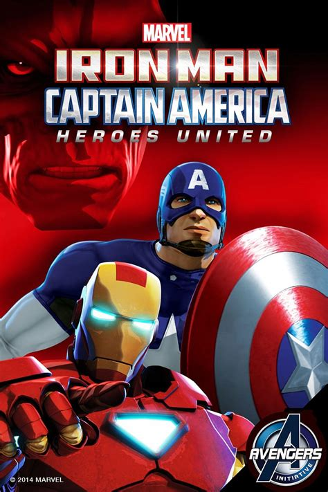 iron man captain america heroes united video marvel