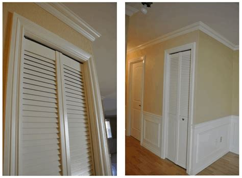 How To Install Trim On Bifold Closet Doors