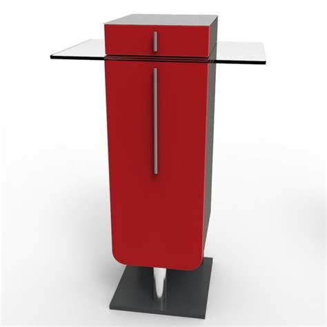 machine à café de bureau meuble pour machine à café design bois et verre avec